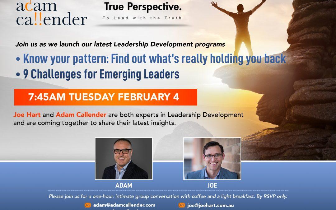 Leadership Breakfast in Sydney